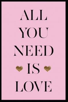 All You Need Canvas Art