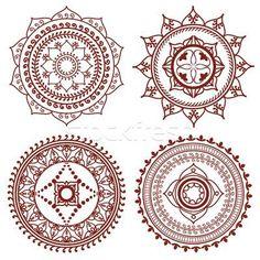 I want a mini mandala tattoo (if possible) behind my ear.