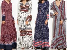 Beautiful Printed Maxi Dresses - Prices & Stores