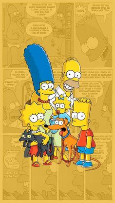 The Simpsons / Os Simpsons, Tumblr Wallpaper, Disney Wallpaper, Cartoon Wallpaper, Wallpaper Backgrounds, Simpson Wallpaper Iphone, Iphone Wallpaper, Simpson Tumblr, Image Zelda, Digital Foto