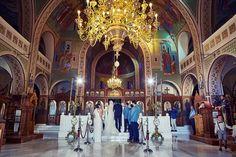 Santorini Wedding - church ceremony Wedding Church, Church Ceremony, Santorini Wedding, Elegant Wedding, Fair Grounds