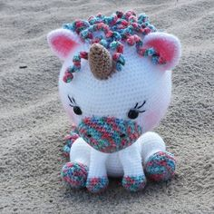Einhorn Häkelanleitung unicorn