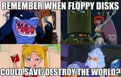 Wait what's a floppy disk? It looks like the save button in Word... O children not born in the 90s you missed out on so much