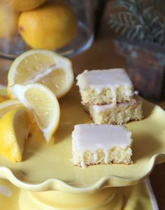 Lemonade Brownies