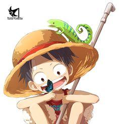 Monkey+D.+Luffy+Render | Render One Piece - Renders Monkey D Luffy Mugiwara Chapeau de paille ...