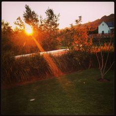 Winter Sunset #Franschhoek