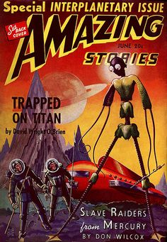 Amazing Stories #scifi #sciencefiction #art