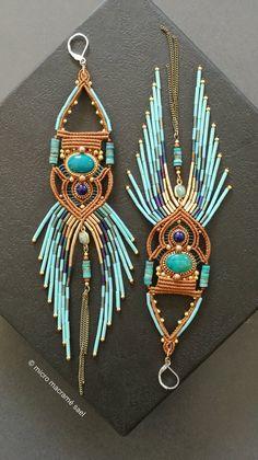 Hippie Chic, Bracelet Friendship, Macrame Jewelry, Macrame Knots, Micro Macramé, Parfait, Jewelery, Steampunk, Gypsy