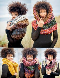 Your Custom Creation Cowl by KnitsAndStonesCH on Etsy