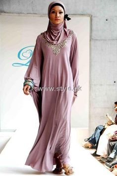 Designs Of Abayas 2013 For Girls Designs Of Abayas 2013 For Girls 005 – Style.Pk