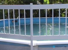 swimming poolne145 ag fence closeup swimming pool ladders for above ground pools ideas rectangular
