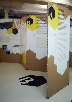 Image result for exhibiciones hechas con estructuras de carton