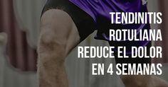 ¿Eres de los corredores que sufren de tendinitis rotuliana y no puedes curarte? Programa de ejercicios probado por la ciencia. Reduce el dolor en 4 semanas