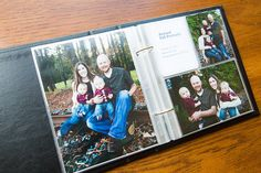 Use a Project Life 6x8 album to put all of your family pictures over the years in one place. Start with your engagement pictures!