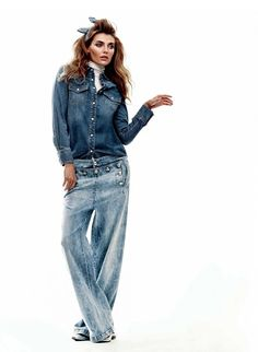 FASHION Magazine | From the March issue: We breathe new life into denim with this attitude-filled photo shoot