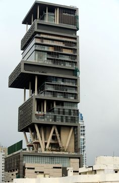 most expensive house in the world,  antilia-residence, india