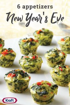 6 Appetizers for New Year's Eve – Celebrate the new year with friends, family and these tasty appetizer ideas! With recipes like Cheddar-Jalapeno Bites, Baked Crab Rangoons, and everything in between, you're sure to find the perfect savory dish to ring in the new year.