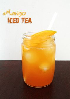Sweet and juicy Mango gives this refreshing iced tea a tropical twist. It certainly doesn't fail to spread summer and sunshine-y flair Source: www.leelalicious.com