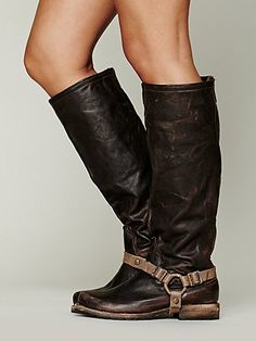 Free People Reckless Tall Boot--- Could make straps for my boots that don't have them.
