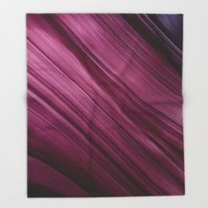 Buy Purple Waves Throw Blanket by VanessaGF. Worldwide shipping available at Society6.com. Just one of millions of high quality products available.