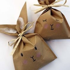 - Skip Skip Bunny bags handmade culture - www.pin… – Hopp Hopp Bunny bags handmade culture www. Creative Gift Wrapping, Creative Gifts, Wrapping Gifts, Diy And Crafts, Crafts For Kids, Children Crafts, Fish Crafts, Kids Diy, Diy Gifts