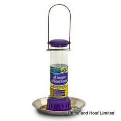 Natures Feast All Seasons All Food Feeder For Wild Birds Natures Feast All Seasons All Food Feeder can be used to feed a… Wild Bird Feeders, Food Feeder, Wild Birds, Bird Houses, Seasons, Canning, Birdhouses, Seasons Of The Year, Nesting Boxes