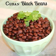 Made It. Ate It. Loved It.: Cuban Black Beans