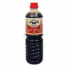 Sójová omáčka japonská YAMASA 1000ml Sauce Bottle, Soy Sauce, Shopping, Bean Dip
