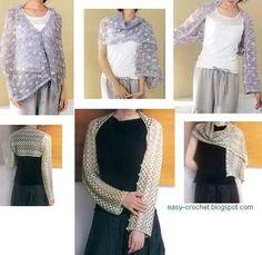 Easy Crochet Shrugs for Beginners