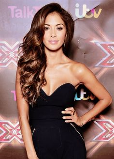Nicole Scherzinger #Hair get this look with Cashmere Hair Clip-In Extensions…