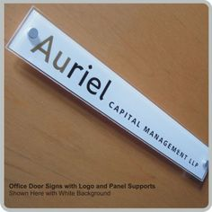 Office Door Signs   Interior Room Signs   Nameplates for Offices ...