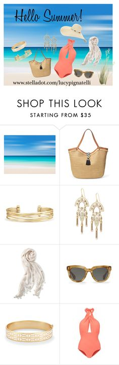 """""""Hello Summer"""" by lucypignatelli on Polyvore featuring Stella & Dot and Lilliput & Felix"""