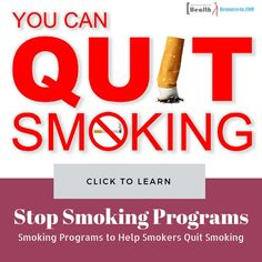 How Stop Smoking Programs are Helpful to Quit Smoking Feeling Happy, How Are You Feeling, Help Quit Smoking, Not Drinking Enough Water, Smoking Addiction, Stop Smoke, High Calorie Meals, Food Out, Types Of Food