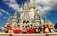50 Most Popular Tourist Attractions In The World: Disneyland Paris, Marne-La-Vallee, France