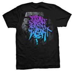 Tribal Gear Handstyle '17 Men's Black T-shirt Graffiti Art Graphic Tee #TribalGear #GraphicTee