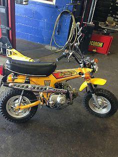 1979 Honda mine was orange and burned my leg plenty on the muffler! Vintage Cycles, Vintage Bikes, Vintage Motorcycles, Cars And Motorcycles, Custom Mini Bike, Mini Cooper Custom, Custom Bikes, Honda Dirt Bike, Honda Bikes