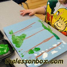 The Lesson Box. 4 Seasons of a Tree- Art.