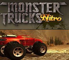 You'll have to drive powerful Monster Trucks over big trains, airplanes and stuff. You can also collect nitro for extra boost power.
