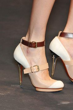 justbesplendid:  Lanvin spring 2010 shoes .. gorgeous or not?