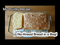 No Knead Bread - Made in a Bag - Possibly the laziest bread in the world! - YouTube