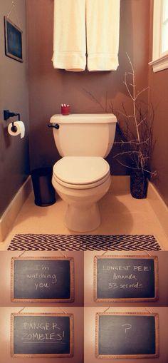 Deco des WC repensée