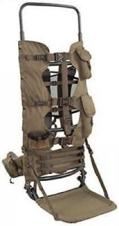 cbdbac946ff7 Large Hunting Backpack Frame Freight Best Hiking Camo Gear Pack Game Elk  Meat S Shooting Sticks