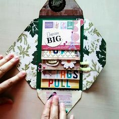 thanks to the amazing you can find on the account of the talented . Mini Albums, Mini Scrapbook Albums, Scrapbook Paper, Snail Mail Flipbook, Pen Pal Letters, Pocket Letters, Letter Art, Waterfall Cards, Snail Mail Pen Pals
