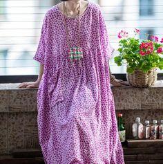 Women's plus size Dresses, summer cotton dress, Purple long dress, party dress, prom dress, boho Maxi dress Dress Prom, Prom Dresses, Green Wool Coat, Comfy Dresses, Summer Dresses For Women, Purple Dress, Cotton Dresses, Plus Size Dresses, Coats For Women