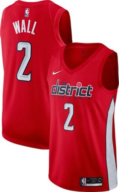 cbe27ed3b Nike Men s Washington Wizards John Wall Dri-FIT Earned Edition Swingman  Jersey