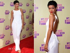 Rihanna In Adam Selman - 2012 MTV Video Music Awards...flawless