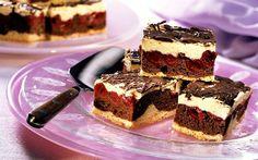 prajitura cu visine Ddr Und Brd, Eat Smarter, Tiramisu, Ethnic Recipes, Food, Sheet Cakes, Meals, Yemek, Eten