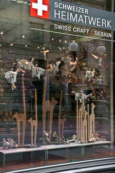 HEIMATWERK SWISS CRAFT - Uraniastrasse 1 in 8001 Zurich....fun to windowshop here