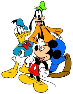 Free image/jpeg, Resolution: File size: Mickey Donald Goofy drawing picture with tags: Disney We Miss You Mickey Mouse Donald Duck, Mickey Mouse Cartoon, Mickey Mouse And Friends, Minnie Mouse, Goofy Disney, Walt Disney Characters, Mickey Mouse Clubhouse, Desenho Tom E Jerry, Goofy Drawing