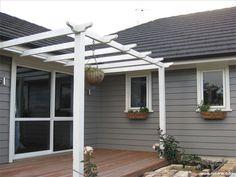 Exterior paint colors for house weatherboard porches 66 ideas House Exterior Color Schemes, Exterior Paint Colors For House, Paint Colors For Home, Exterior Colors, Paint Colours, Exterior Design, Weatherboard Exterior, Exterior Cladding, Best Exterior Paint